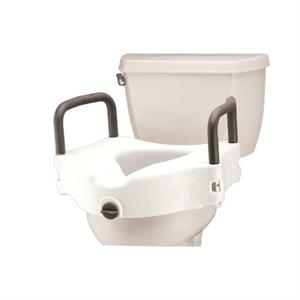 "5"" Locking Raised Toilet Seat"