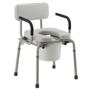 3 in 1 Drop Arm Commode