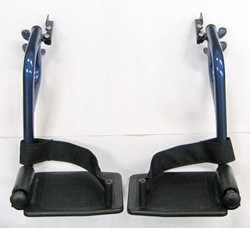 Footrests, Swing Away for Nova 329 Blue, CK-FR104B