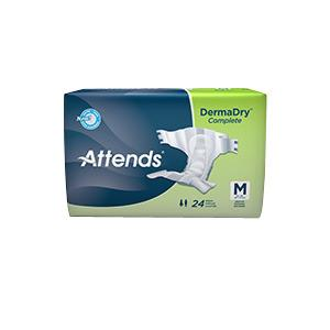 Attends DermaDry Breathable Briefs MED