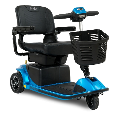 photo of Pride Mobility Revo™ 2.0 3 Wheeled Scooter S66 in True Blue MAIN
