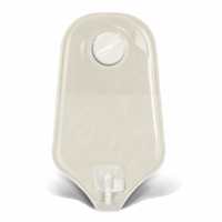 401542 - 401546 Pouch, Sur-fit Natura transparent urostomy, standard length, Accuseal Tap