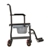 photo of Nova 8805 Drop Arm Transport Chair Commode side view 3 of 4