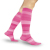 Compression Sock, Microfiber Shades, Women's Knee High, Closed Toe, 15-20 mmHg 1 of 3