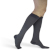Compression Sock, Microfiber Shades, Men's Knee High, Closed Toe, 15-20 mmHG 3 of 5