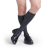 Compression Sock, Microfiber Series, Men's Knee High, Closed Toe, 15-20 mmHg 3 of 5