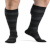 Compression Sock, Microfiber Patterns Series, Men's Knee High, Closed Toe, 20-30 mmHg 2 of 2