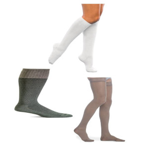 Closed Toe 15-20 mmHg Compression Socks