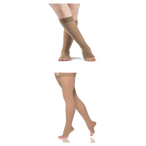 Open Toe 30-40 mmHg Compression Socks (Rx Required)