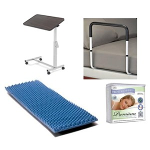 Best prices on bedroom products, safety rails and under pads in Arvada and Denver