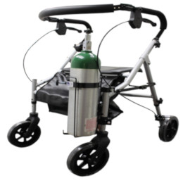 Oxygen Tank Holder for Walkers