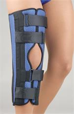 Breathable Universal Tri-Panel Foam Knee Immobilizer_THUMBNAIL