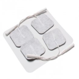 Electrodes, 2in X 2in square, Pre-Gelled, Reusable THUMBNAIL