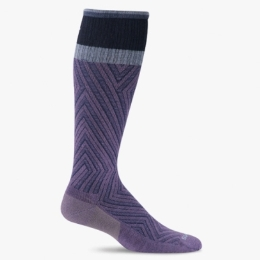 Compression Sock, Labyrinth, Women's Knee High, 15-20 mmHg_THUMBNAIL