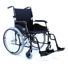 "Wheelchair 18"" Ultra Lightweight, Desk Length Arms THUMBNAIL"