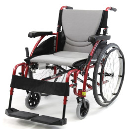 "Wheelchair 18"" Ultra Lightweight Ergonomic, Desk Length Arms THUMBNAIL"