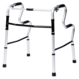 Lumex® UpRise Onyx Folding Walker