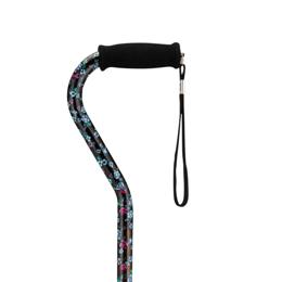 Offset Handle Adjustable Cane, Designer