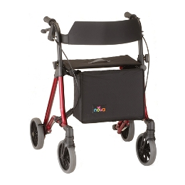 "photo of Nova Forté 20"" Forte Rolling Walker 4320RD & 4320BL THUMBNAIL"