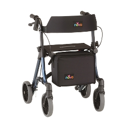 "photo of Nova Forté 23"" Forte Rolling Walker 4323RD & 4323BL THUMBNAIL"