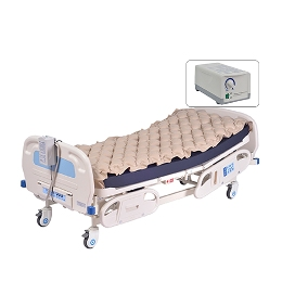 Deluxe Alternating Pressure System, Pump and Mattress Pad