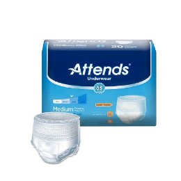 Attends® Moderate Absorbency Adult Underwear THUMBNAIL