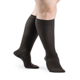 Compression Sock, Zurich All-Season, Women's Knee High, Closed Toe, 15-20 mmHg