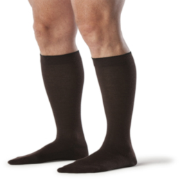 Compression Sock, Zurich All-Season, Men's Knee High, Closed Toe, 15-20 mmHg