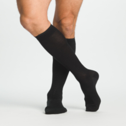 photo of Sigvaris Merino Wool Series 240, 242C Compression Sock, Men's Knee High, Closed Toe, 20-30 mmHg THUMBNAIL