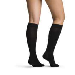 photo of Sigvaris Merino Wool Series 240, 242C Compression Sock, Women's Knee High, Closed Toe, 20-30 mmHg THUMBNAIL