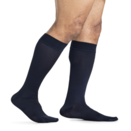 Compression Sock, Midtown Microfiber, Men's Knee High, Closed Toe, 15-20 mmHg