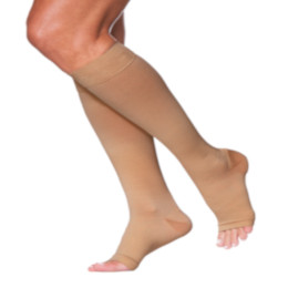 Compression Sock, Access Series, Dynaven Series, Unisex Knee High, Open Toe, 20-30 mmHg THUMBNAIL