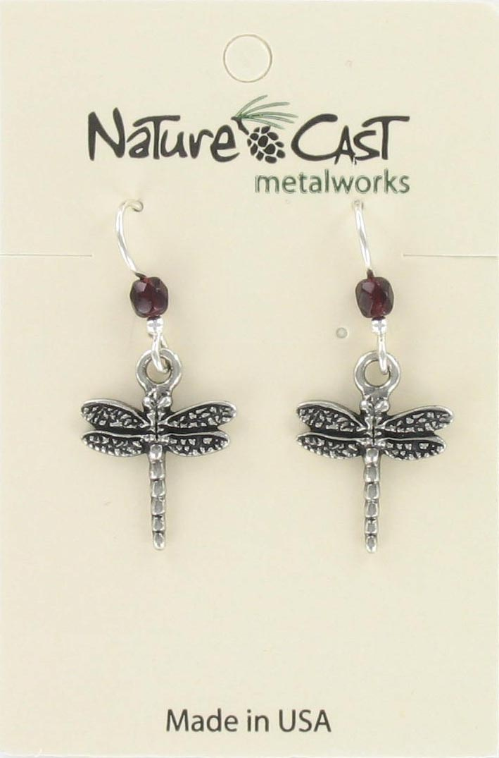 Earring dangle dragonfly