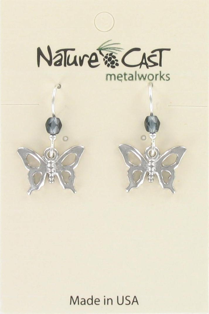Earring  dangle petro butterfly