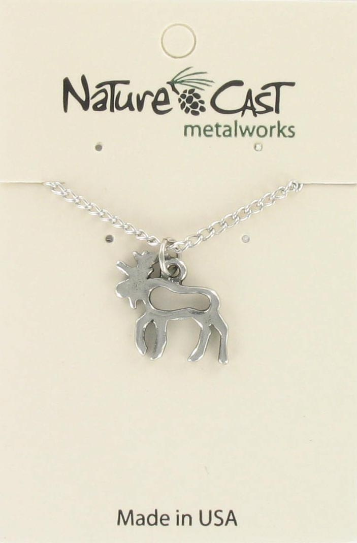 "Pendant petro moose w/18"" chain MAIN"