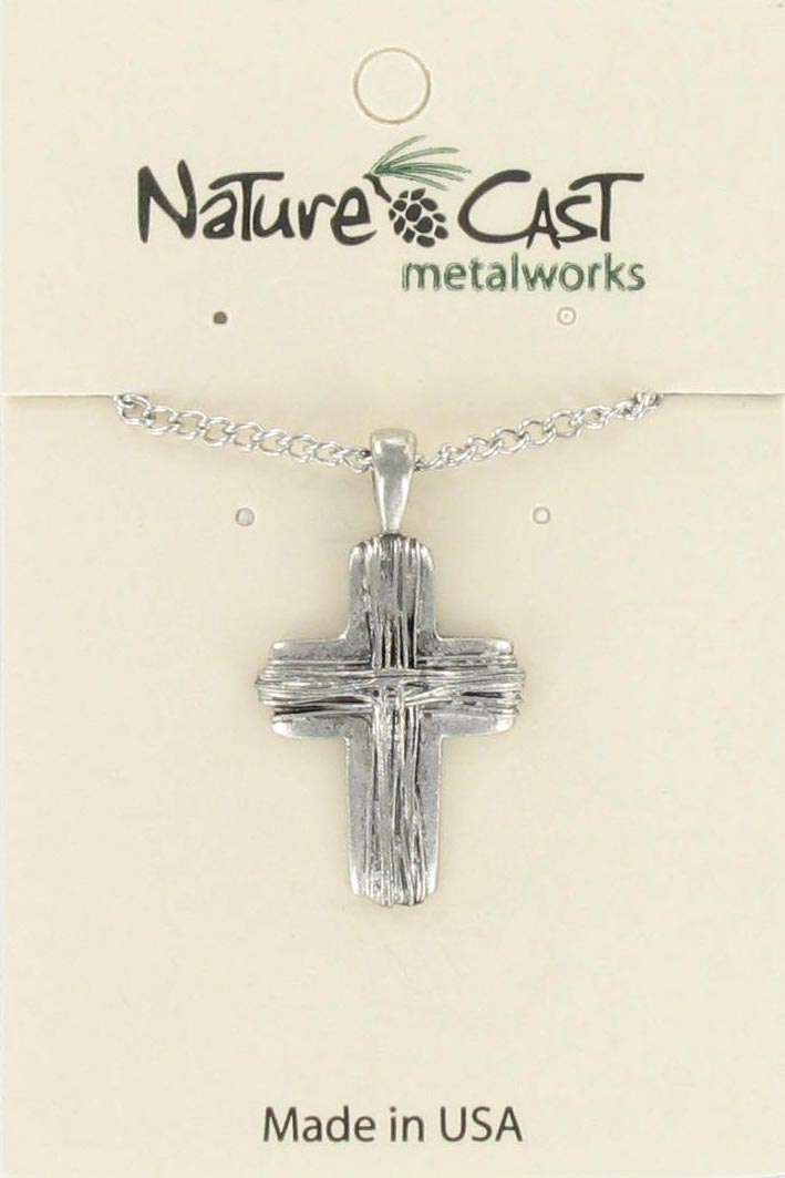"Pendant cross w/18"" chain"