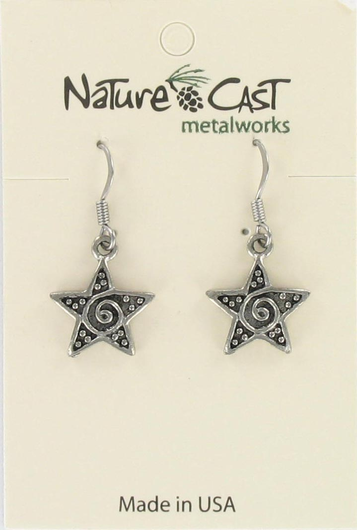 Earring dangle star