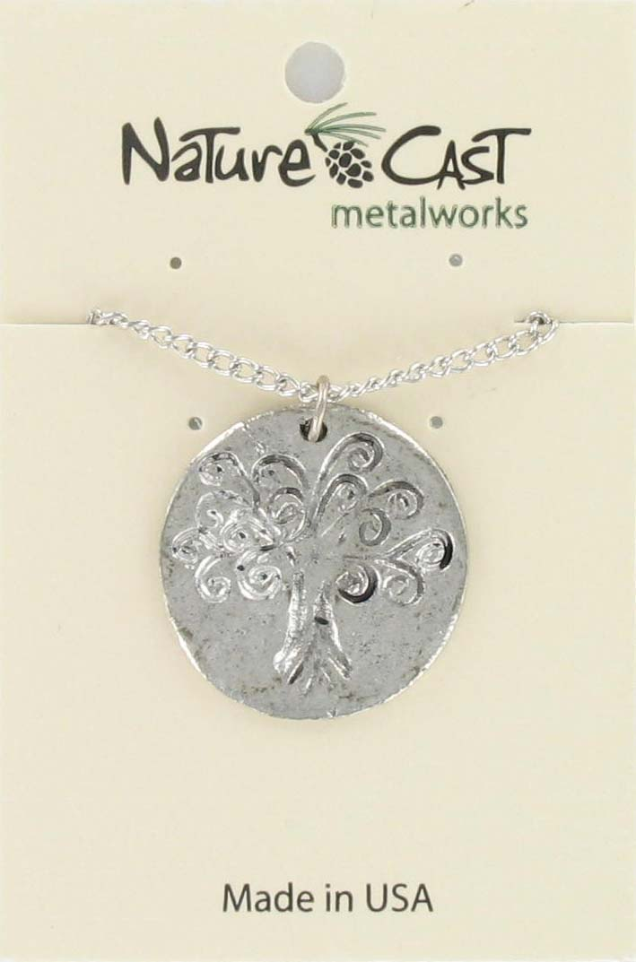 "Pendant tree of life w/18"" chain"