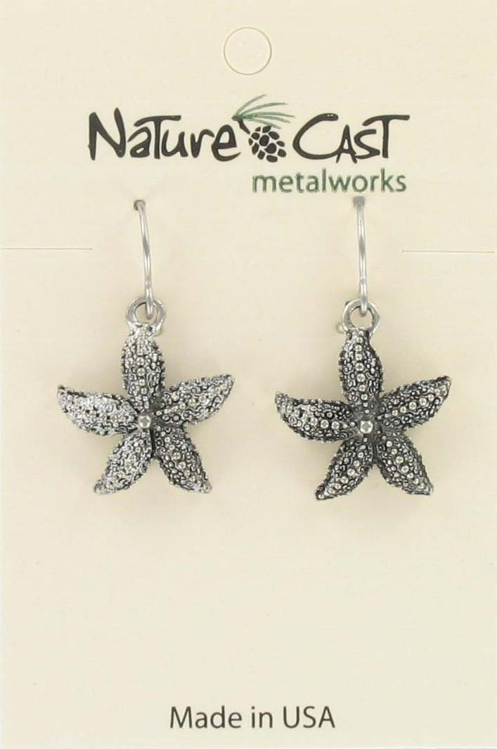 Earring dangle starfish