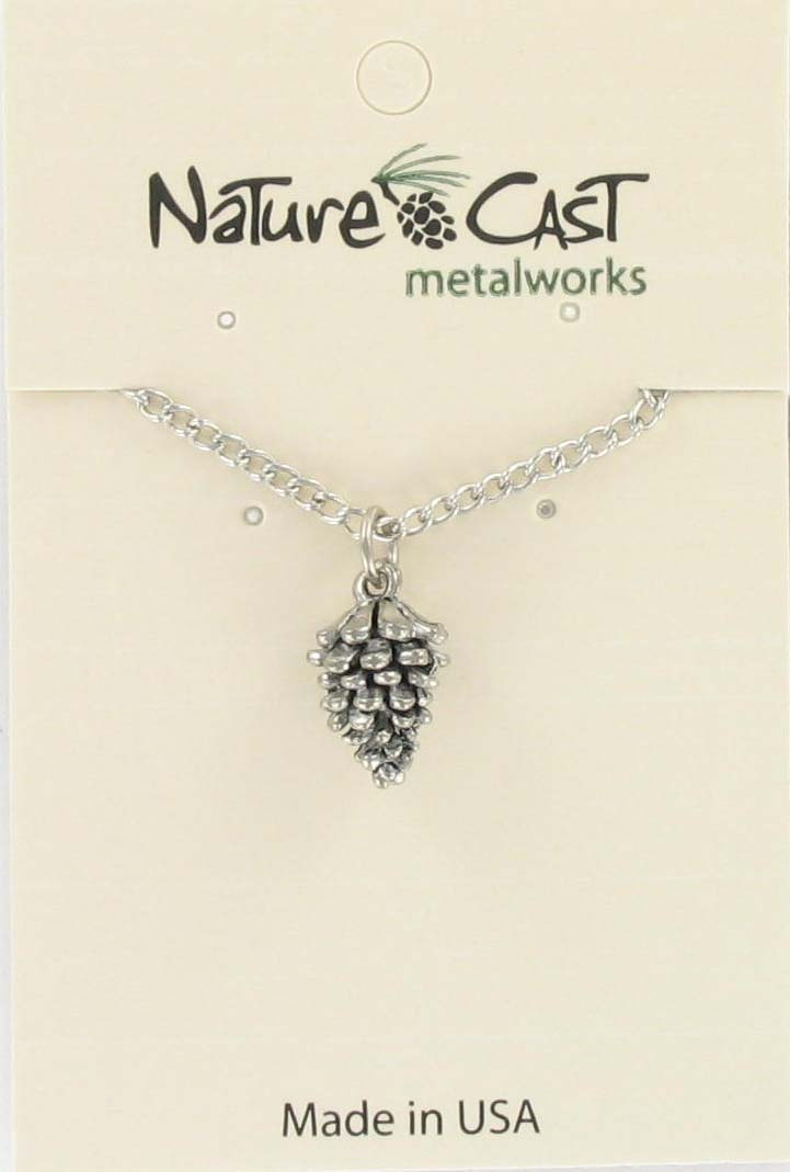 "Pendant pinecone w/18"" chain_MAIN"