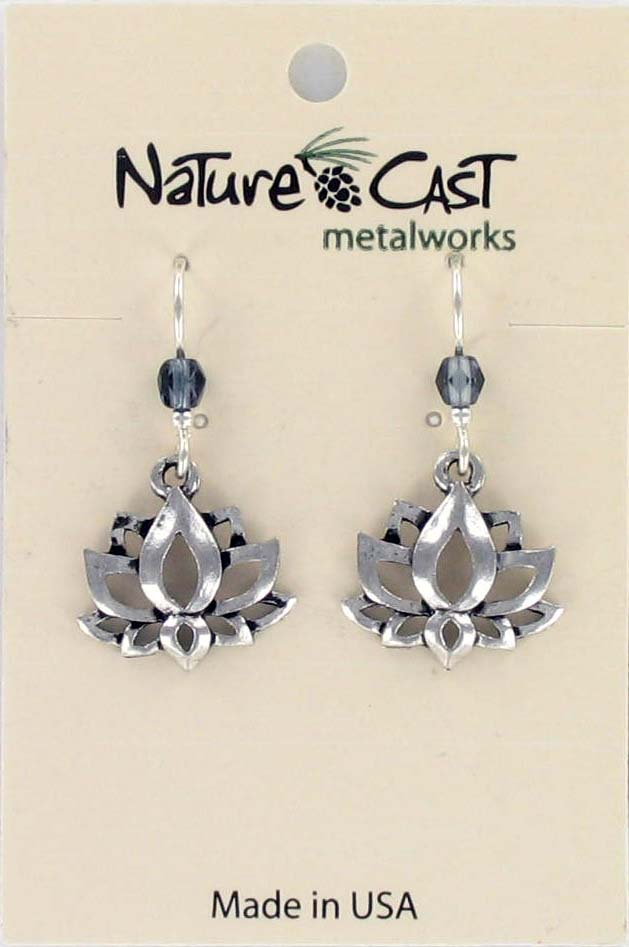 Earring dangle lotus_THUMBNAIL