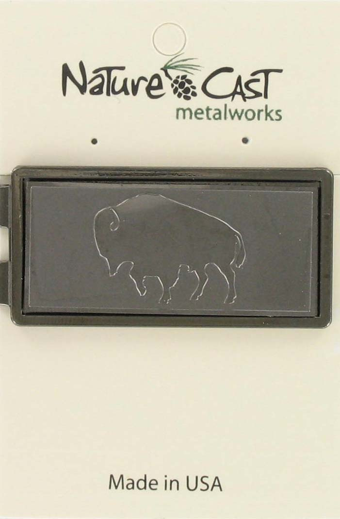 Money clip - buffalo
