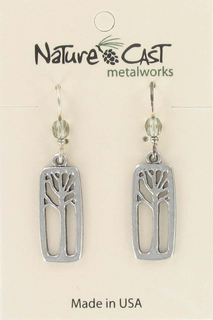 Earring dangle tree in rectangle_THUMBNAIL