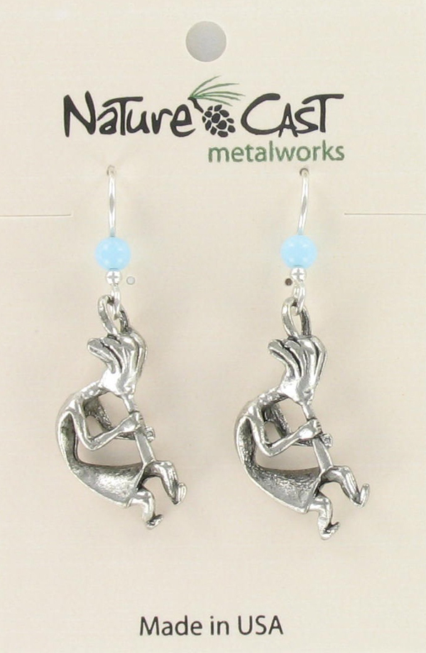 Earring dangle kokopelli