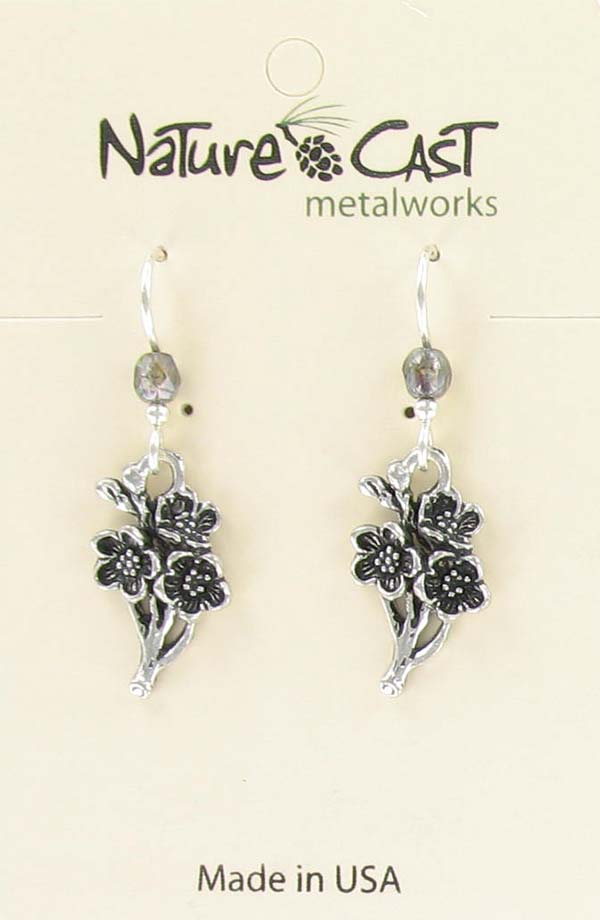 Earring dangle Sakura cherry blossom THUMBNAIL