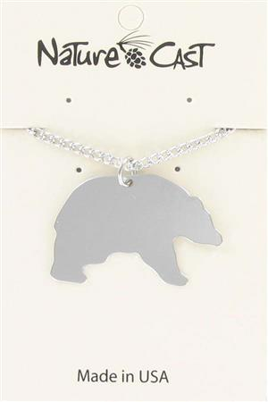 "Pendant black bear w / 18"" chain_MAIN"