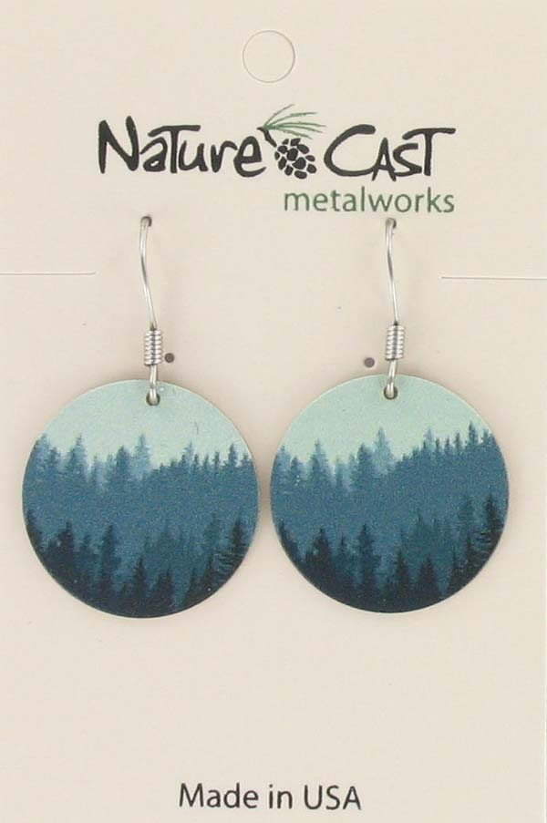 Earring dangle trees on disc