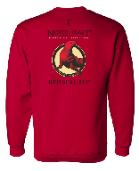 Red Seal Crewneck Sweatshirt THUMBNAIL