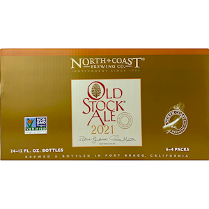 Old Stock Ale 2021 12oz 24 pack case MAIN