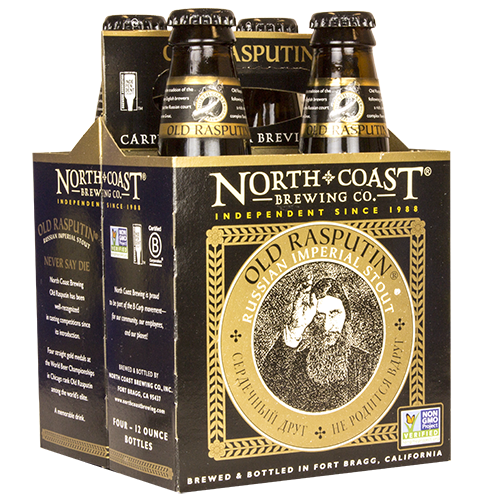Old Rasputin Russian Imperial Stout Four Pack <br>12 oz